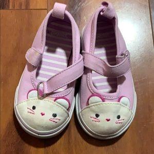 Gymboree purple mouse sneaker shoes size 5